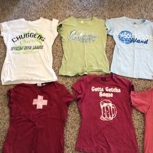 7 T-shirts with vintage feel